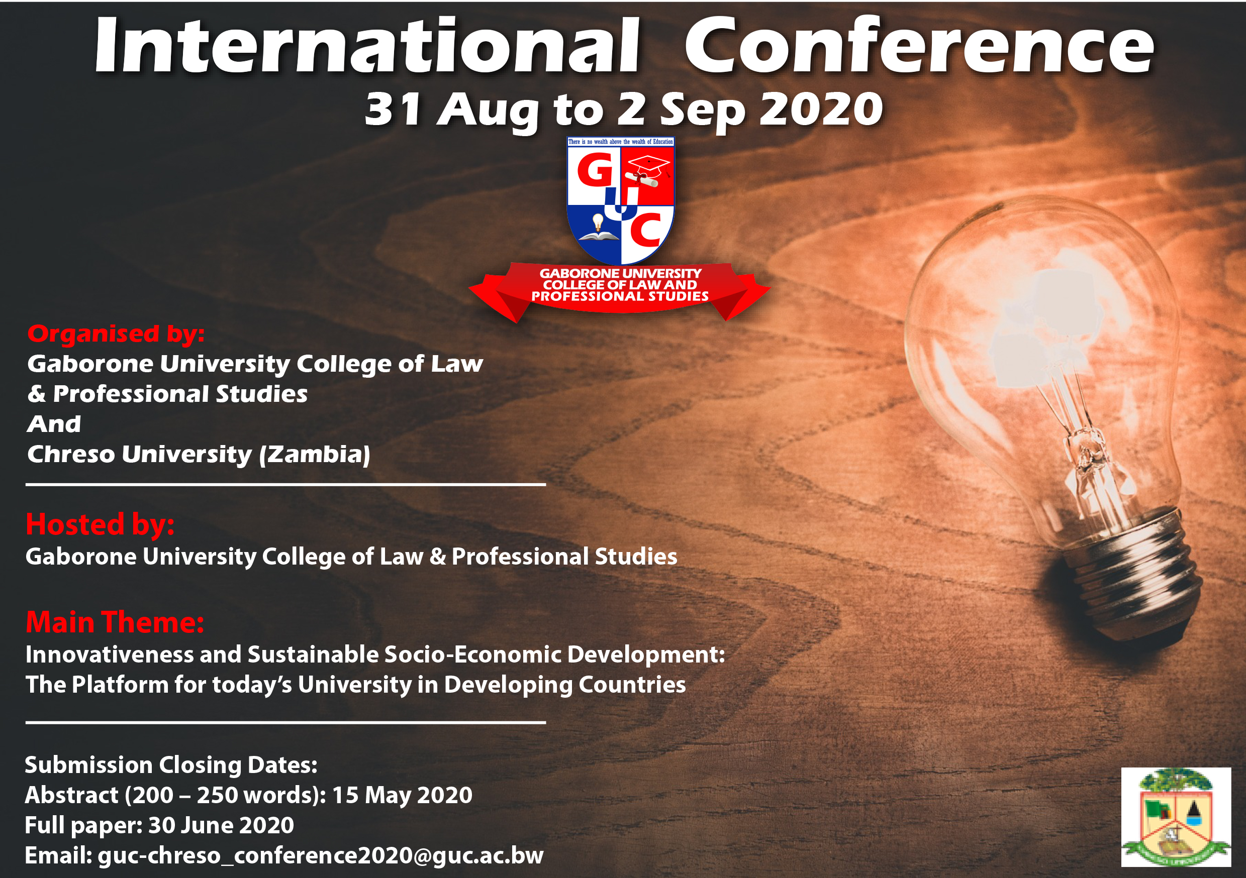 GUC CONFERENCE 2020 C